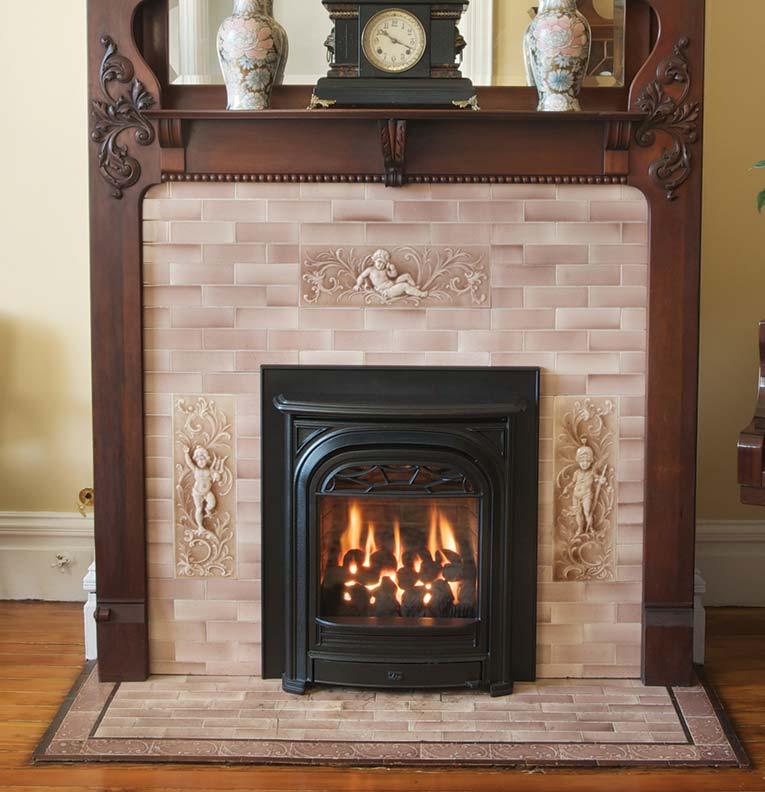 Valor President DC fireplace insert