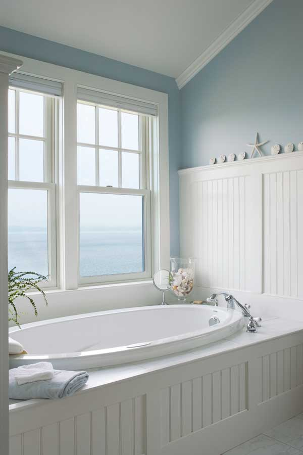 Fitted bathrooms are both a contemporary trend and a return to the furniture-like fixtures of the early days of indoor plumbing.