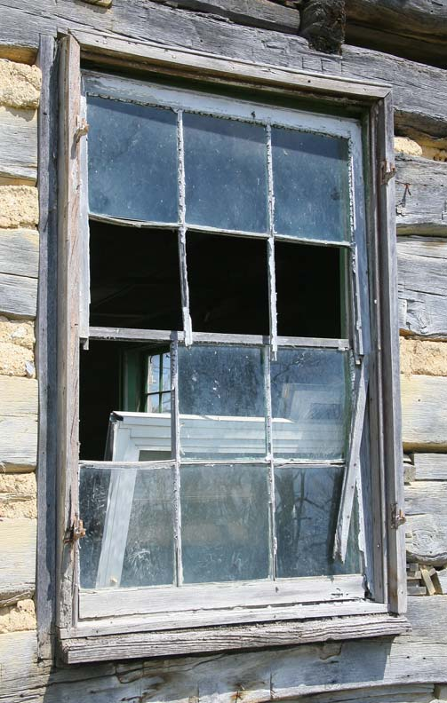 Replace individual panes of glass with this 6-step repair.