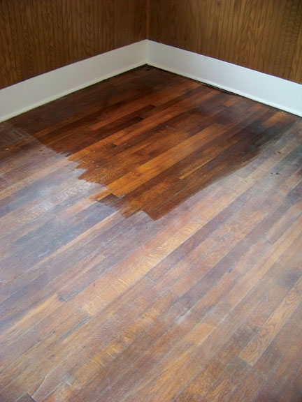 Recoating hardwood floor finish floor matttroy for Wood floor finishes