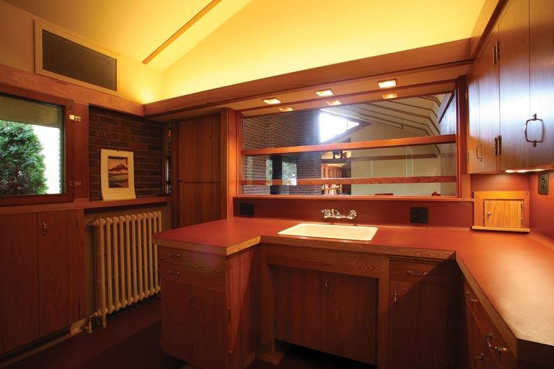Restoring a Frank Lloyd Wright Kitchen