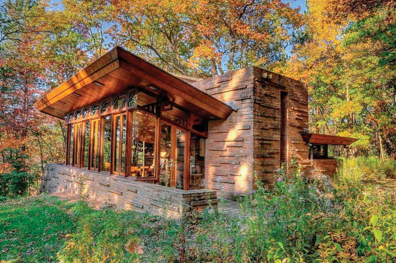 Seth Peterson Cottage, Frank Lloyd Wright houses Wisconsin