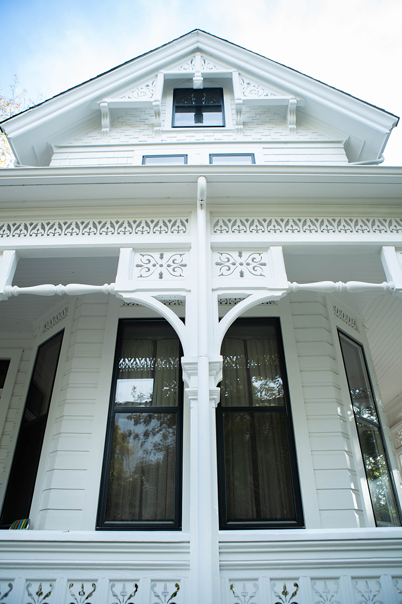 Judge William D Fenton residence porch repair