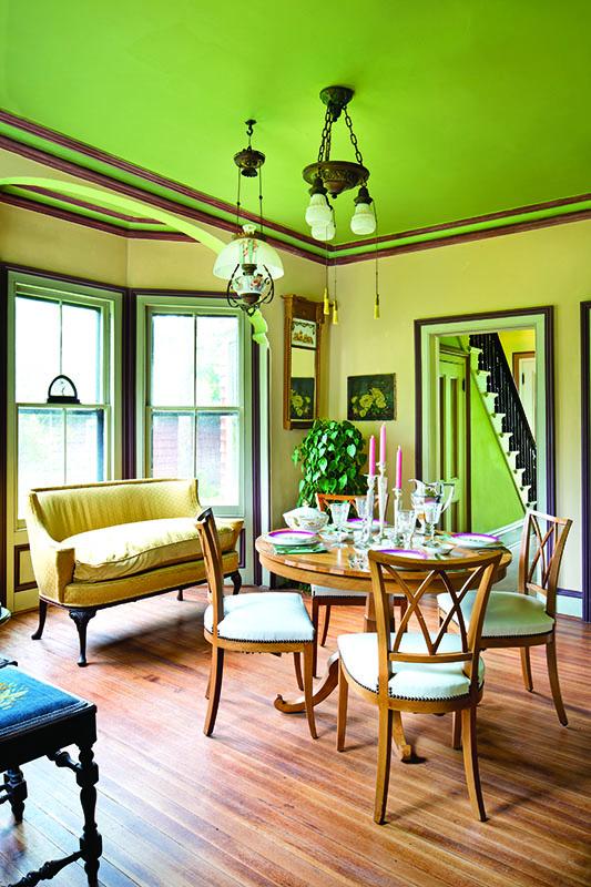 Italianate dining room