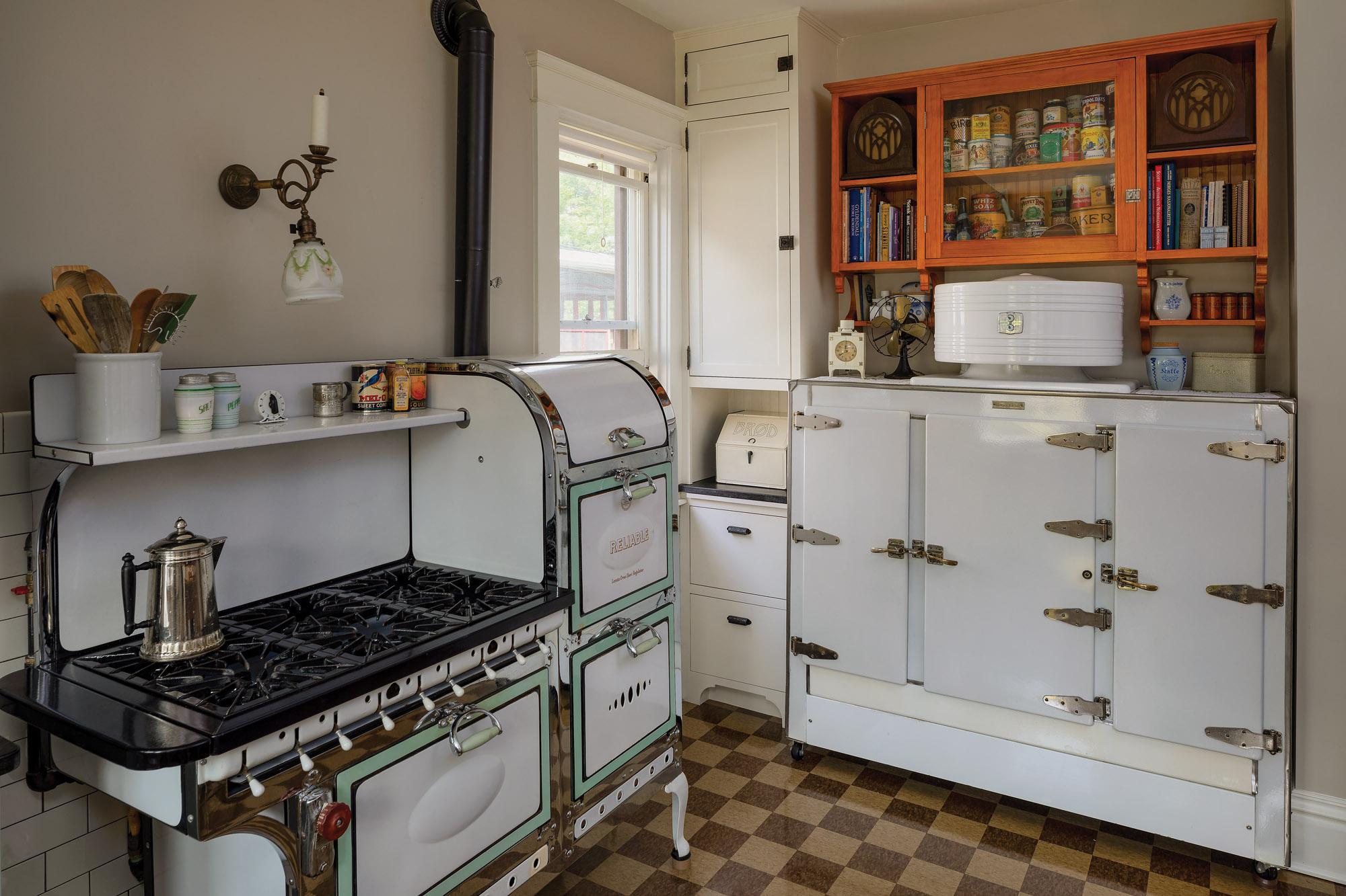 Hiding Modern Amenities in Older Homes