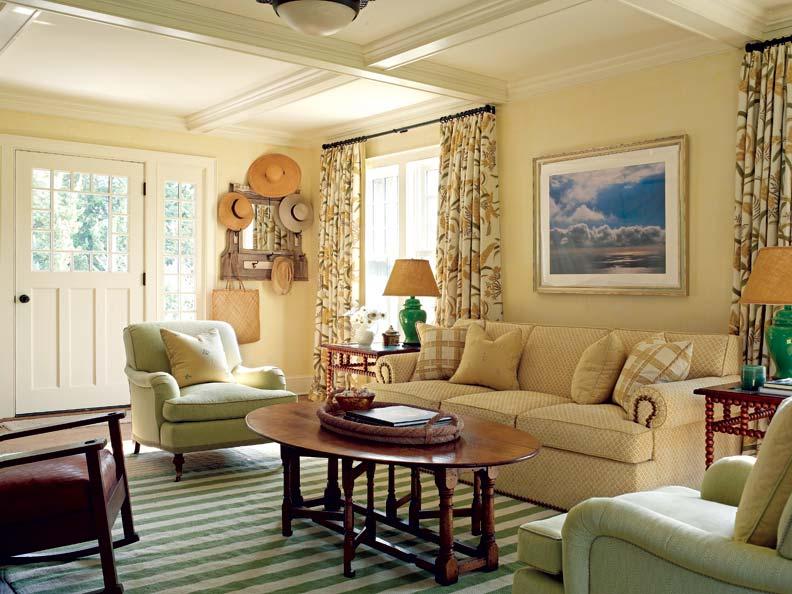 Douglas Graneto Design of Greenwich created warm, inviting interiors.