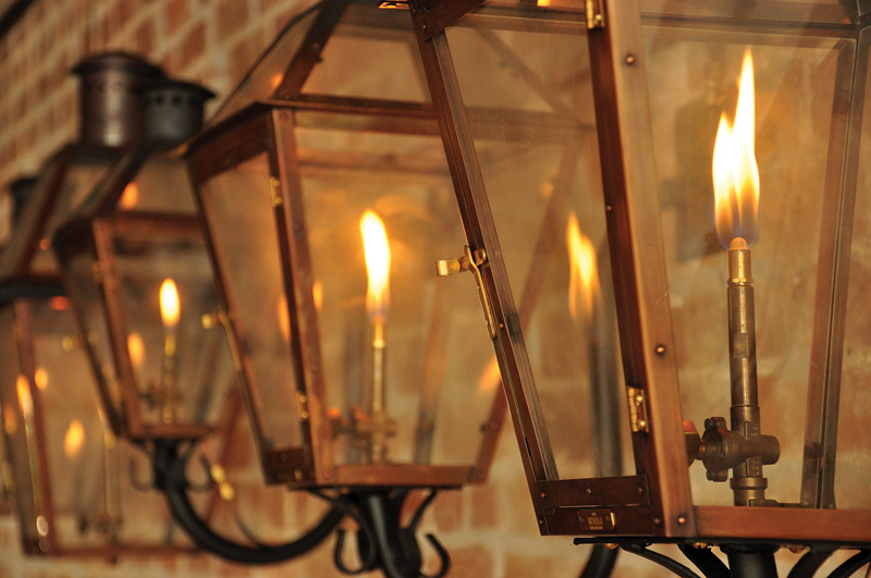copper gas lanterns
