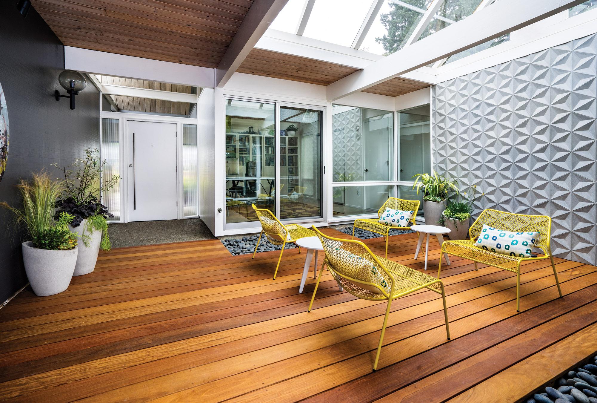Robert Rummer designed atrium