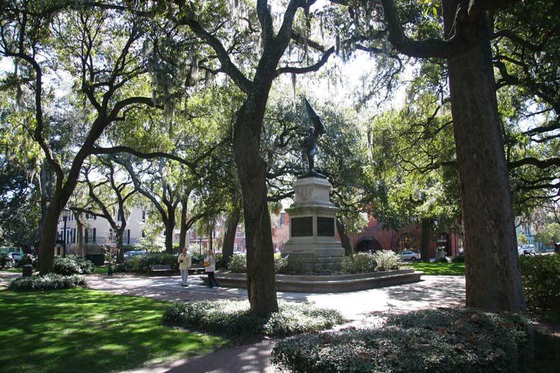 Savannah is known as the most haunted city in the U.S.