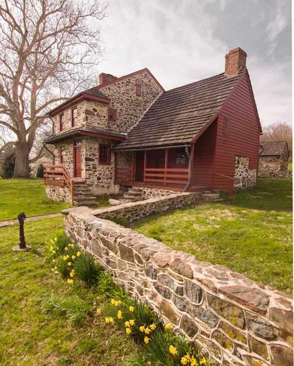 Stone houses of eastern pennsylvania old house for Stone built homes
