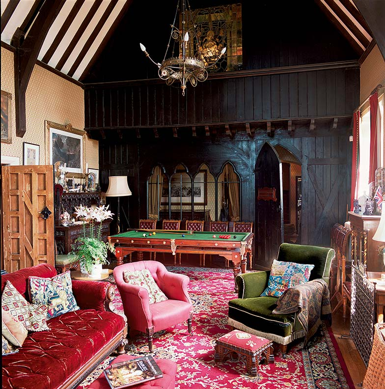 A Gothic Schoolhouse Becomes A Home