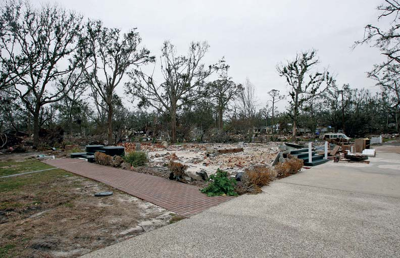 After Katrina, Grass Lawn was little more than a footprint along the oceanfront.