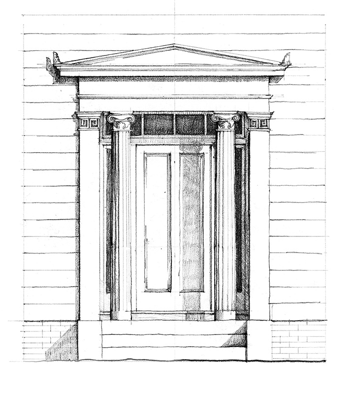 GREEK REVIVAL 1825–1860 (Illustration: Paulo Vicente)