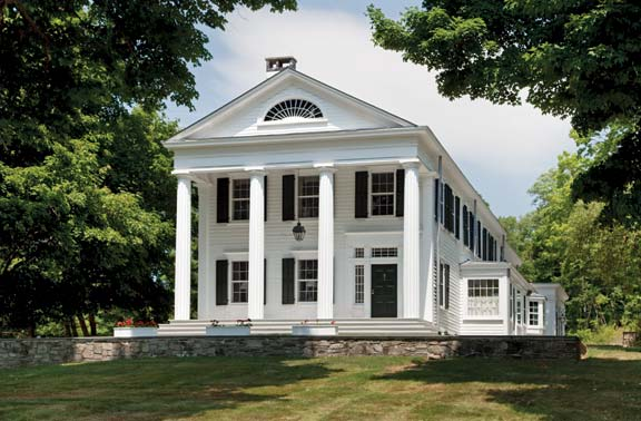A Greek Revival Expansion Restoration Amp Design For The