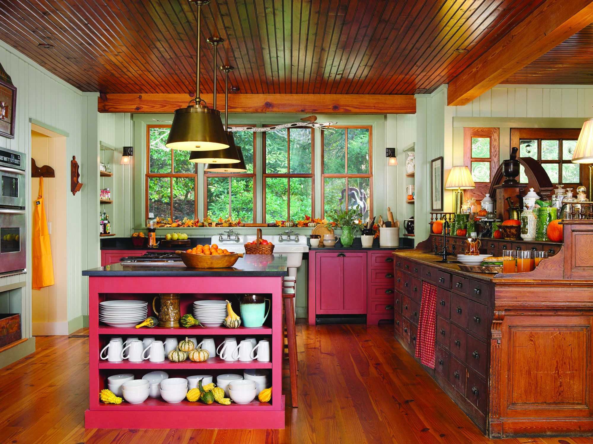 Apothecary Styled Kitchen Renovation