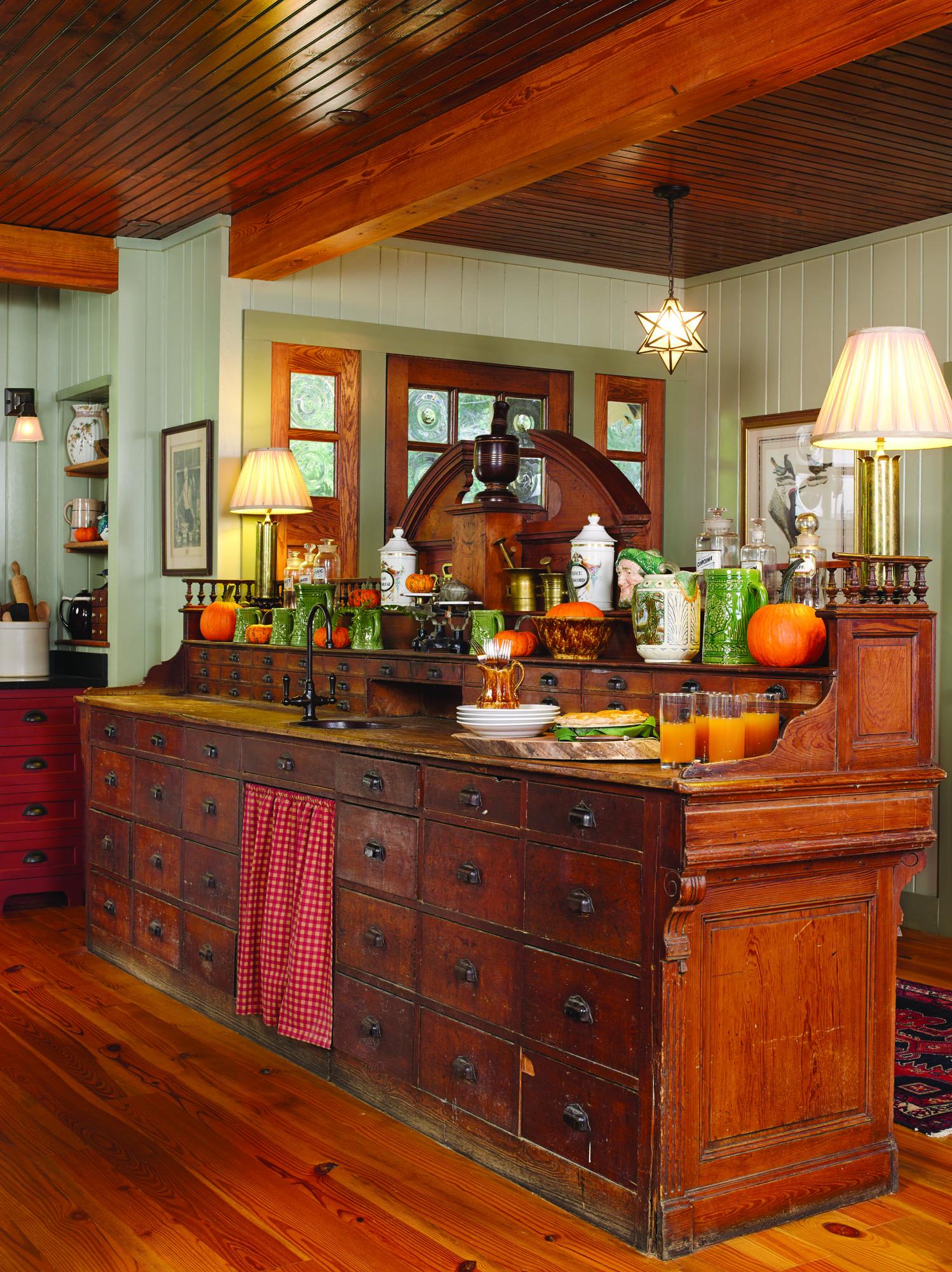 Apothecary Styled Kitchen Renovation Restoration