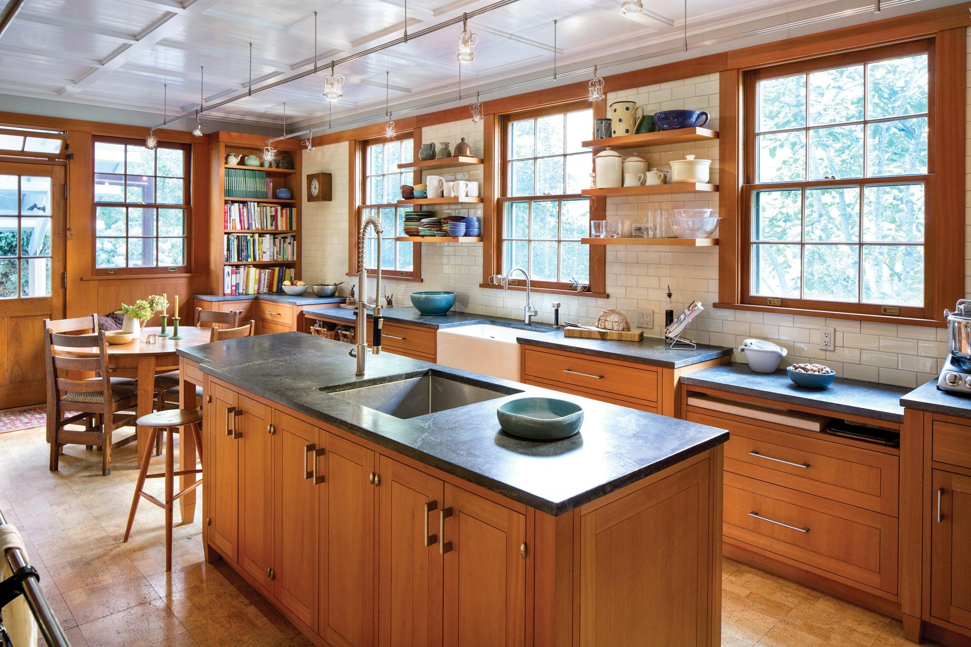 new Craftsman kitchen