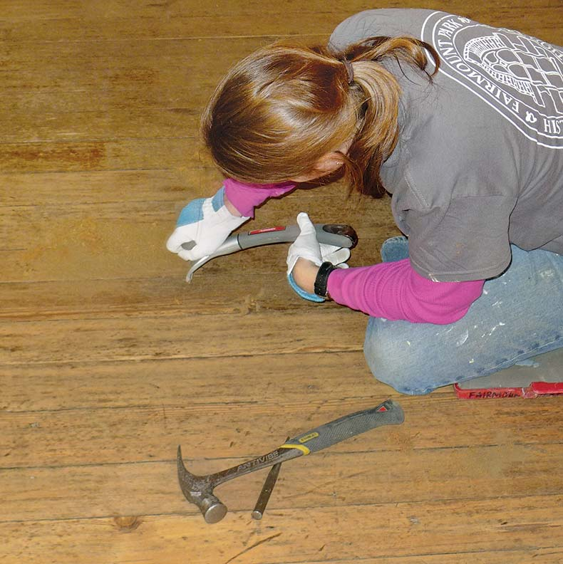 How To Hand Scrape Wood Floors Old House Journal Magazine