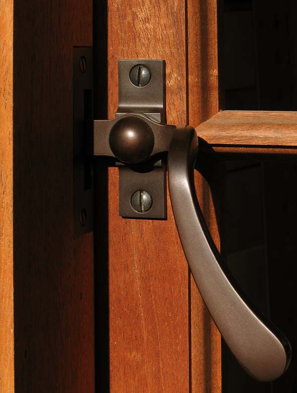 A casement window fastener from Phelps Company