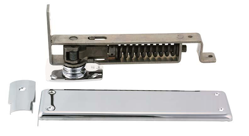 Swinging door hardware from Bommer Inc.