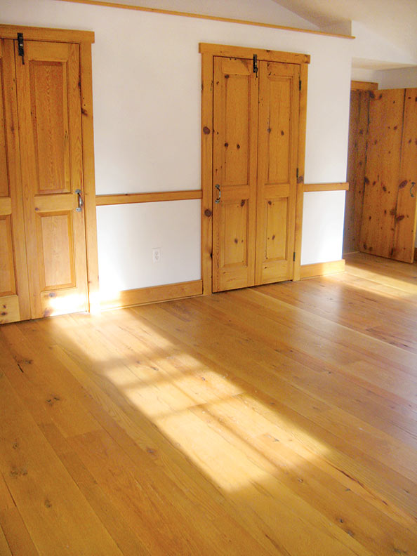 reclaimed solid wood flooring like this example from authentic wood floors comes with the