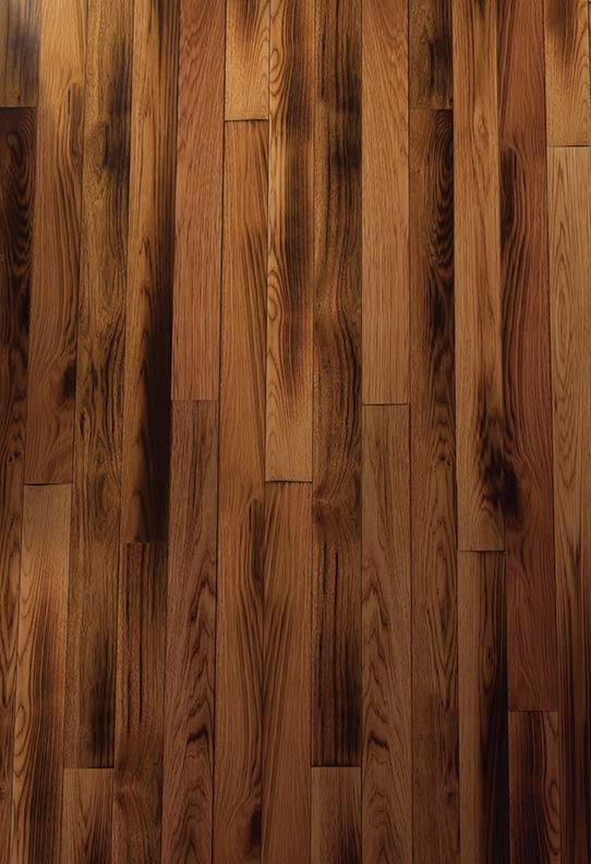 Homerwood's Smoked Hickory finish flooring