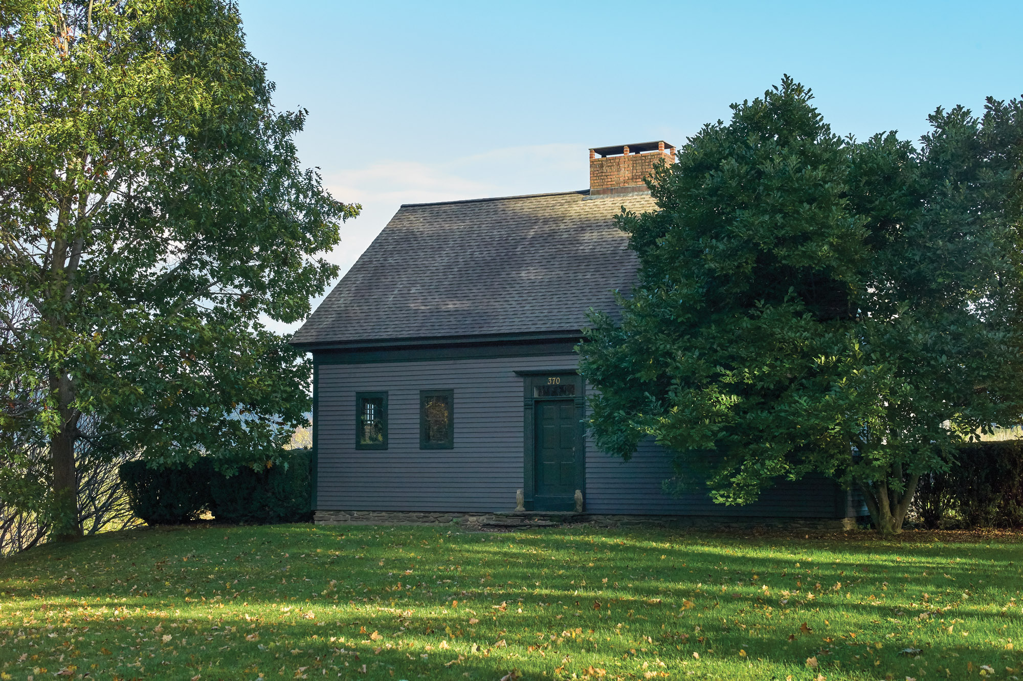 The Relocation and Restoration of a Late-18th-Century House