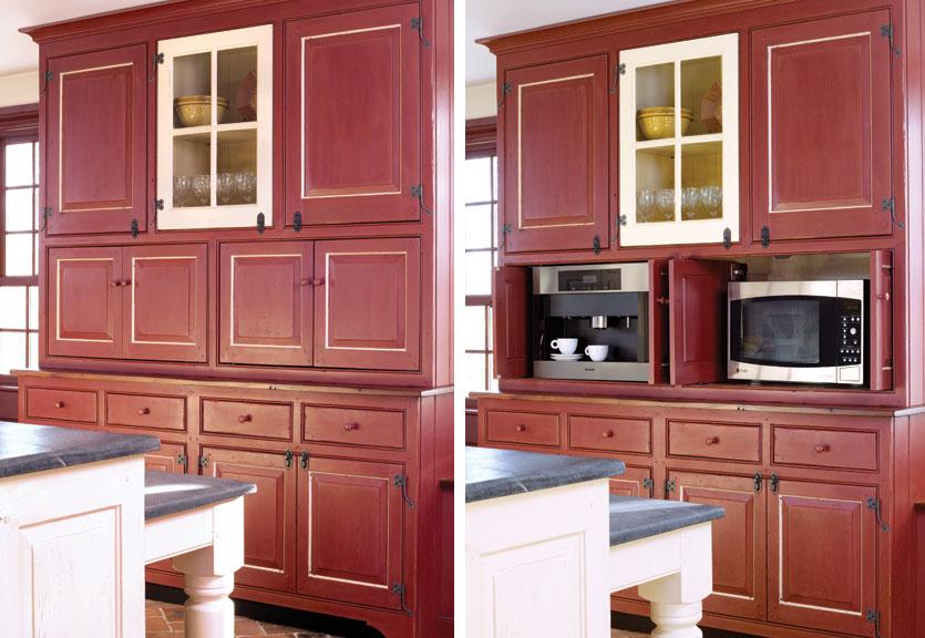 6 Ways to Hide Kitchen Appliances - Old House Journal Magazine