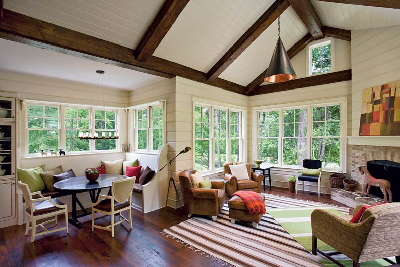 Jeld Wen's Aura Last wood is a coating that protects against rot, water saturation, and termites.