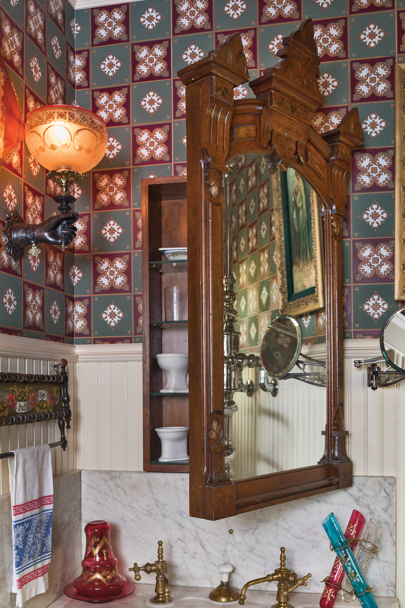 Diy Recessed Medicine Cabinet Old House Journal Magazine