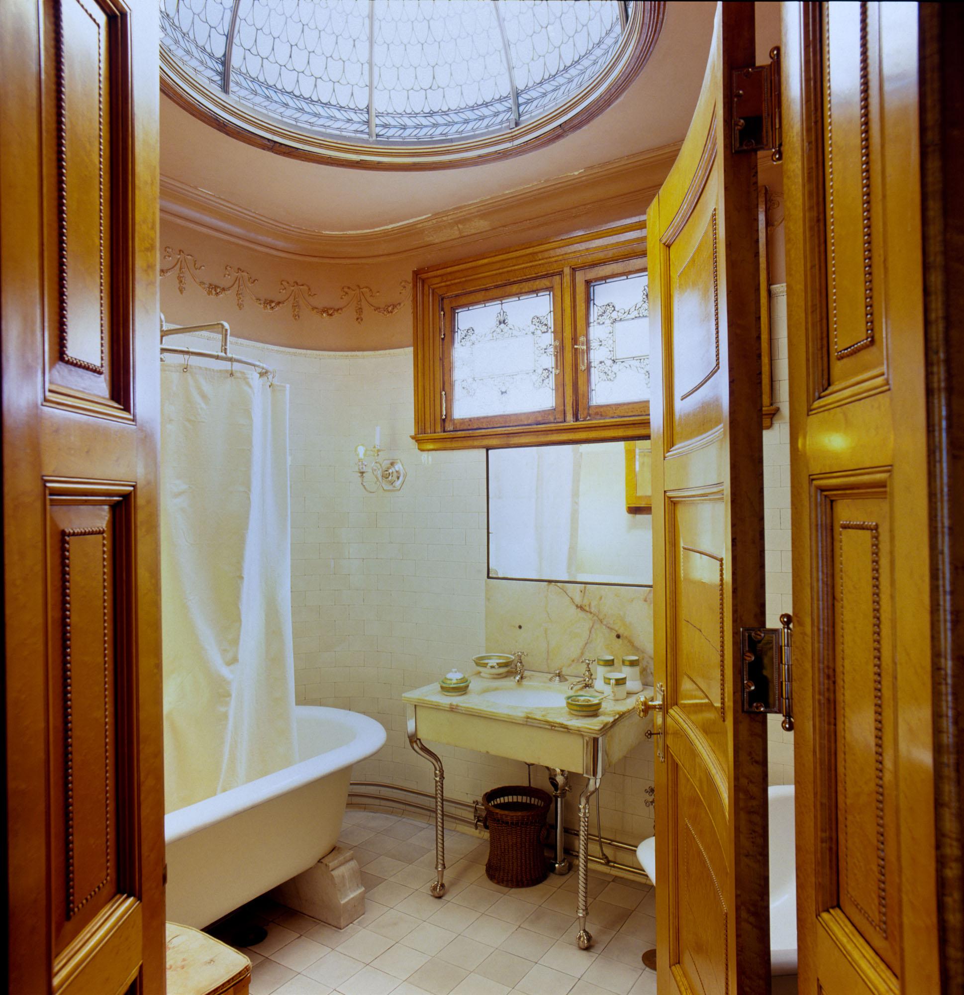 Victorian-era bathroom