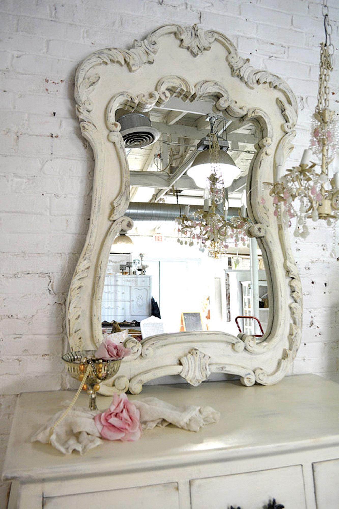 reproduction baroque mirror