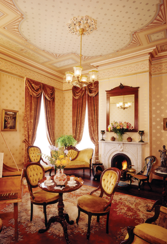 Historical wallpapers look different, feel different, smell different from the pre-pasted papers you buy at the hardware store. Most makers offer design services to help you with your scheme.