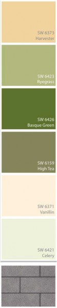 sears paint colors