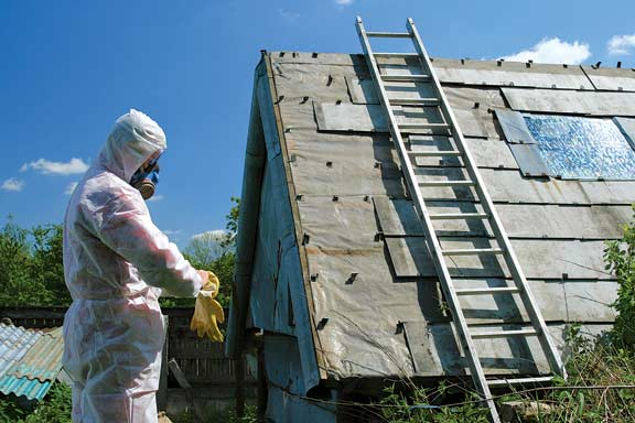 Asbestos removal requires proper equipment and techniques—if in doubt, leave it to the pros.