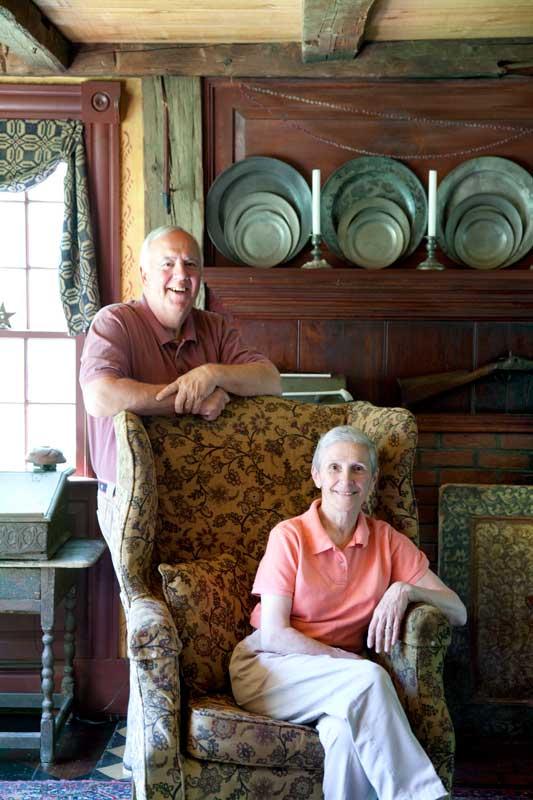 Homeowners Bob and Carol LeBeau.