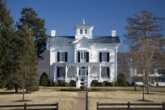 i house with cupola