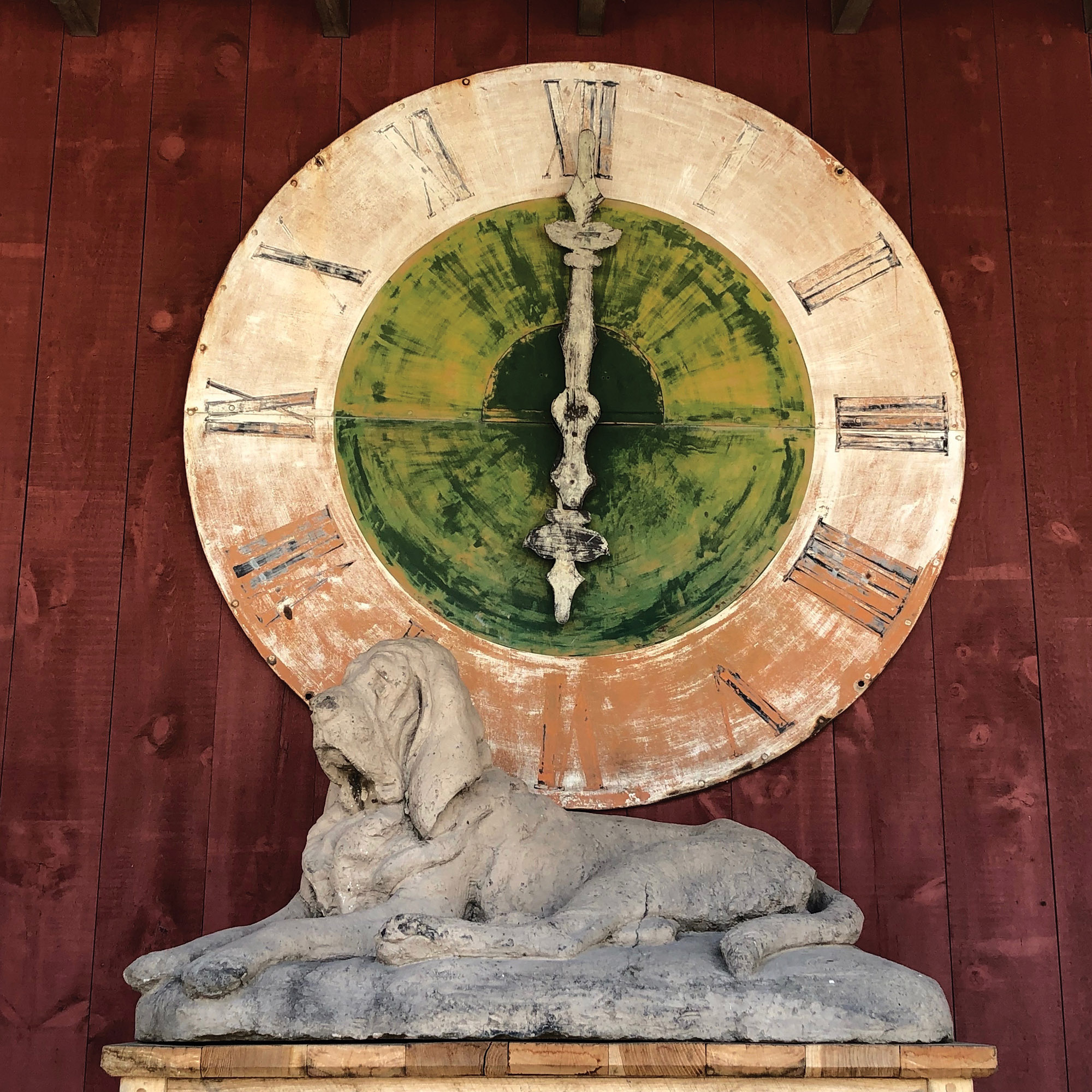 architectural salvage clock