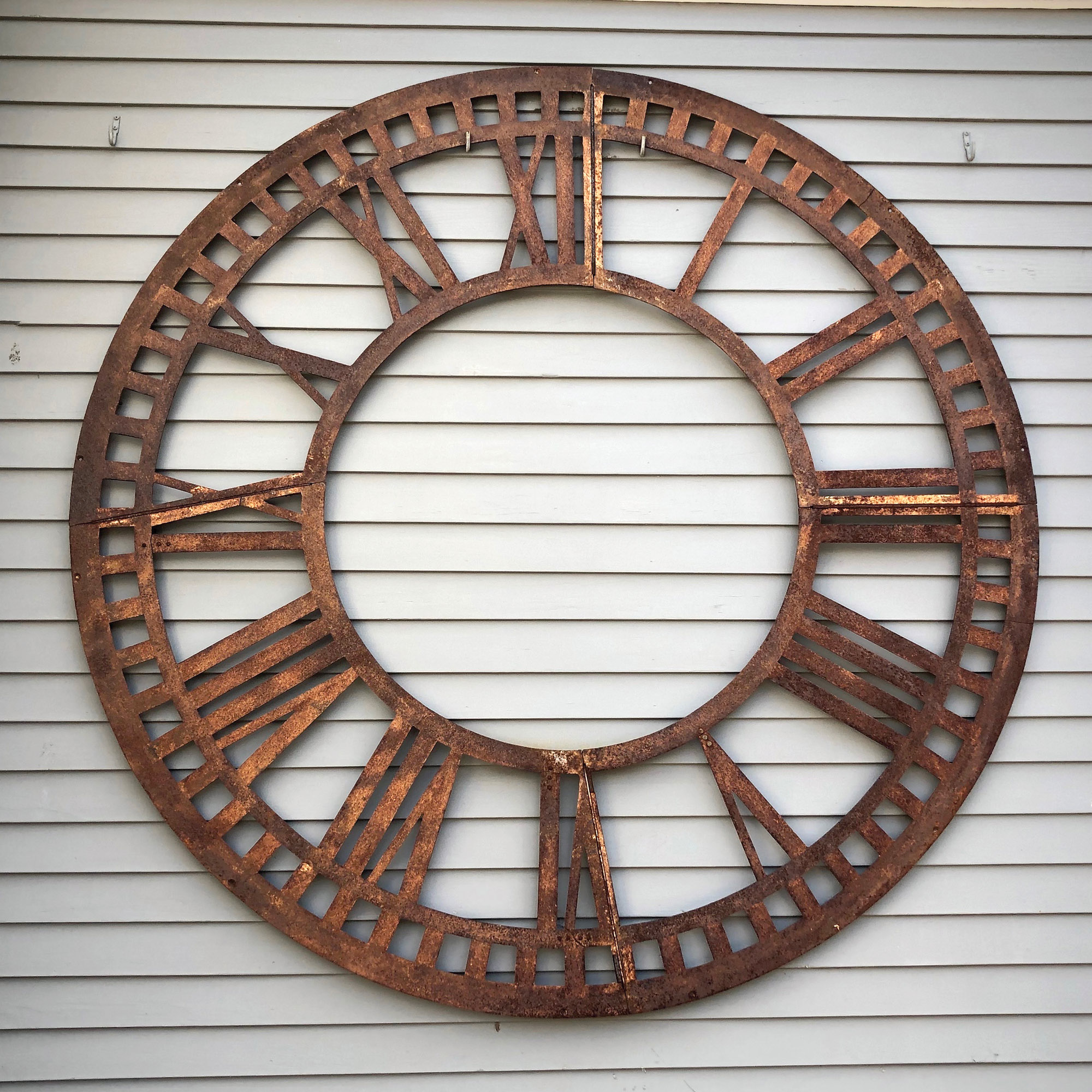 Rusted clock