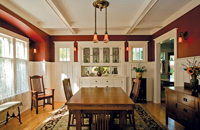 Simple Dining Room Color Ideas: A Thoughtful Bungalow Restoration