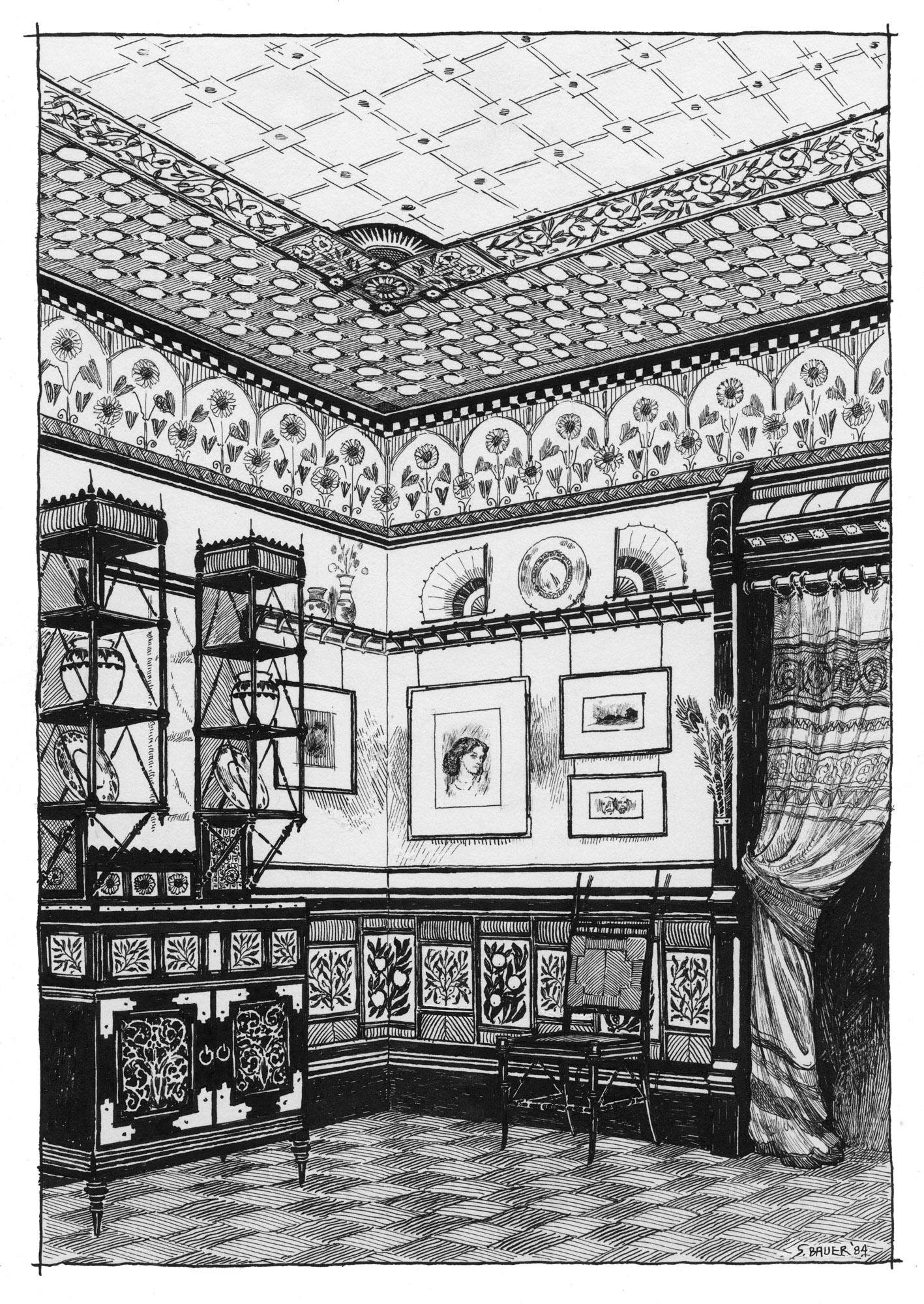 Aesthetic Movement Interiors 1872–1889