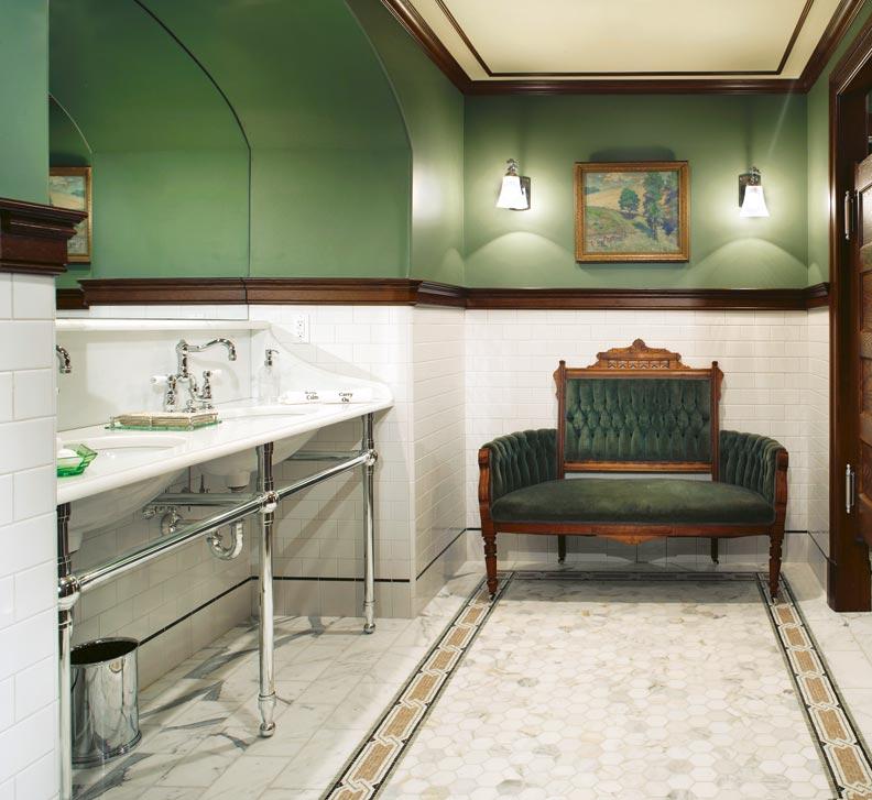Ideas from an Edwardian Bathroom