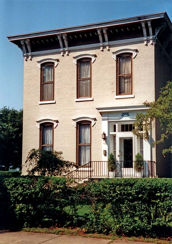 Italianate architecture and history old house for Italianate victorian house plans