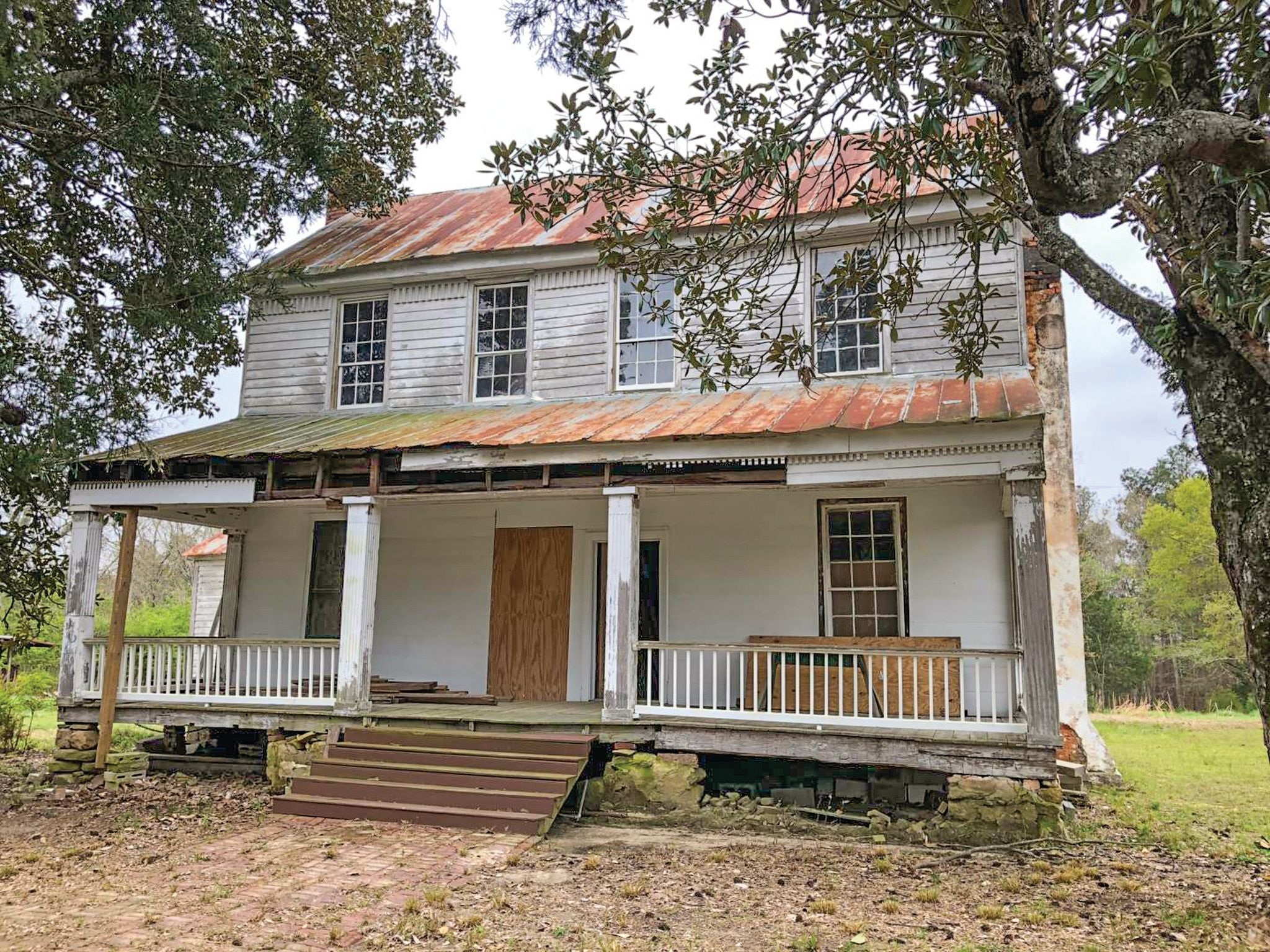 Real Estate The Cason Veal House In Jewell Ga Old