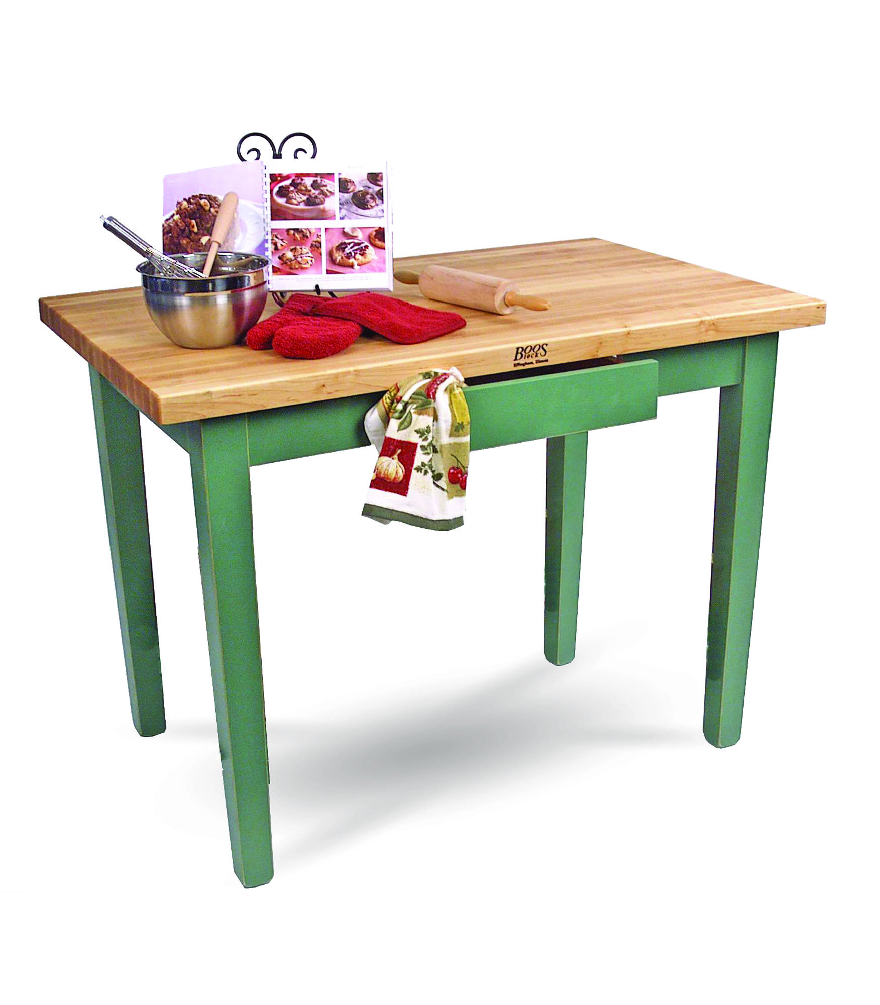 """Boos """"C Classic"""" country work table."""