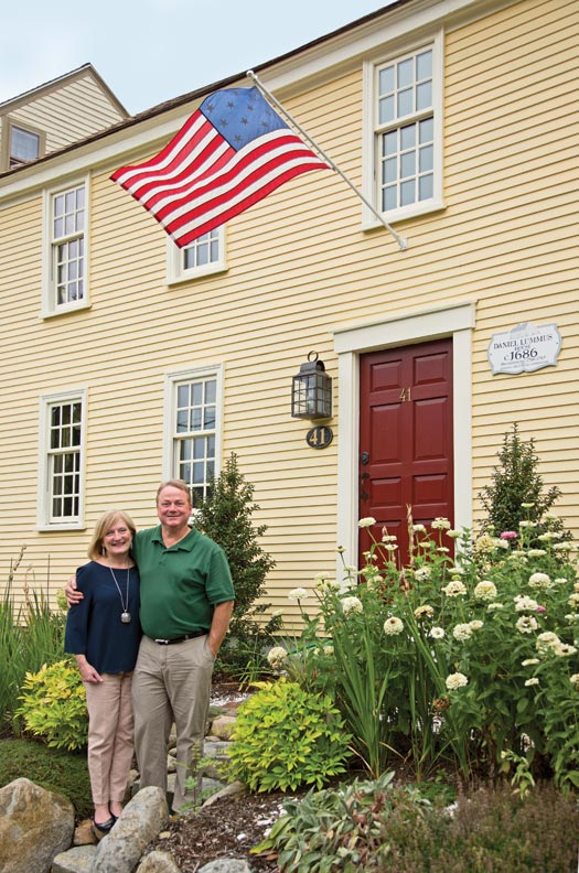 Kathy Bruce and Al Boynton undertook the restoration of an abandoned house with a core dating to 1686.