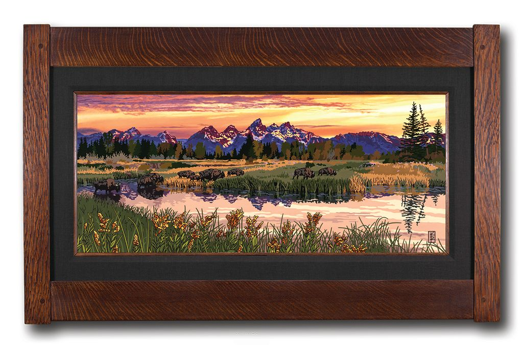 Keith Rust Illustration OHJ1219 Rugged Grand Tetons 2019-10-30 17_21_53