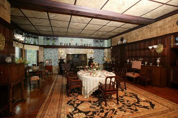Kingscote dining room