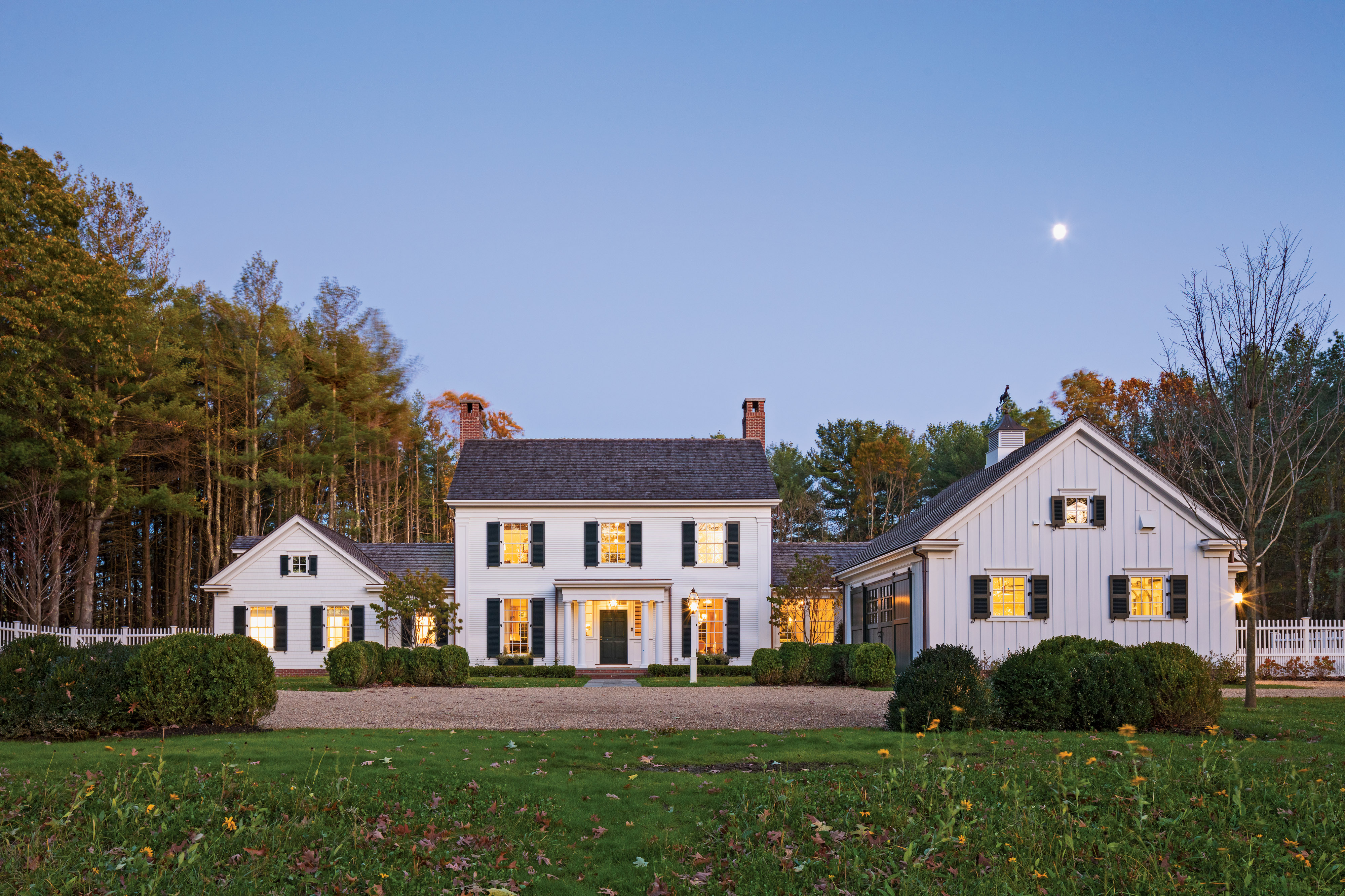 A Traditional New England  Colonial