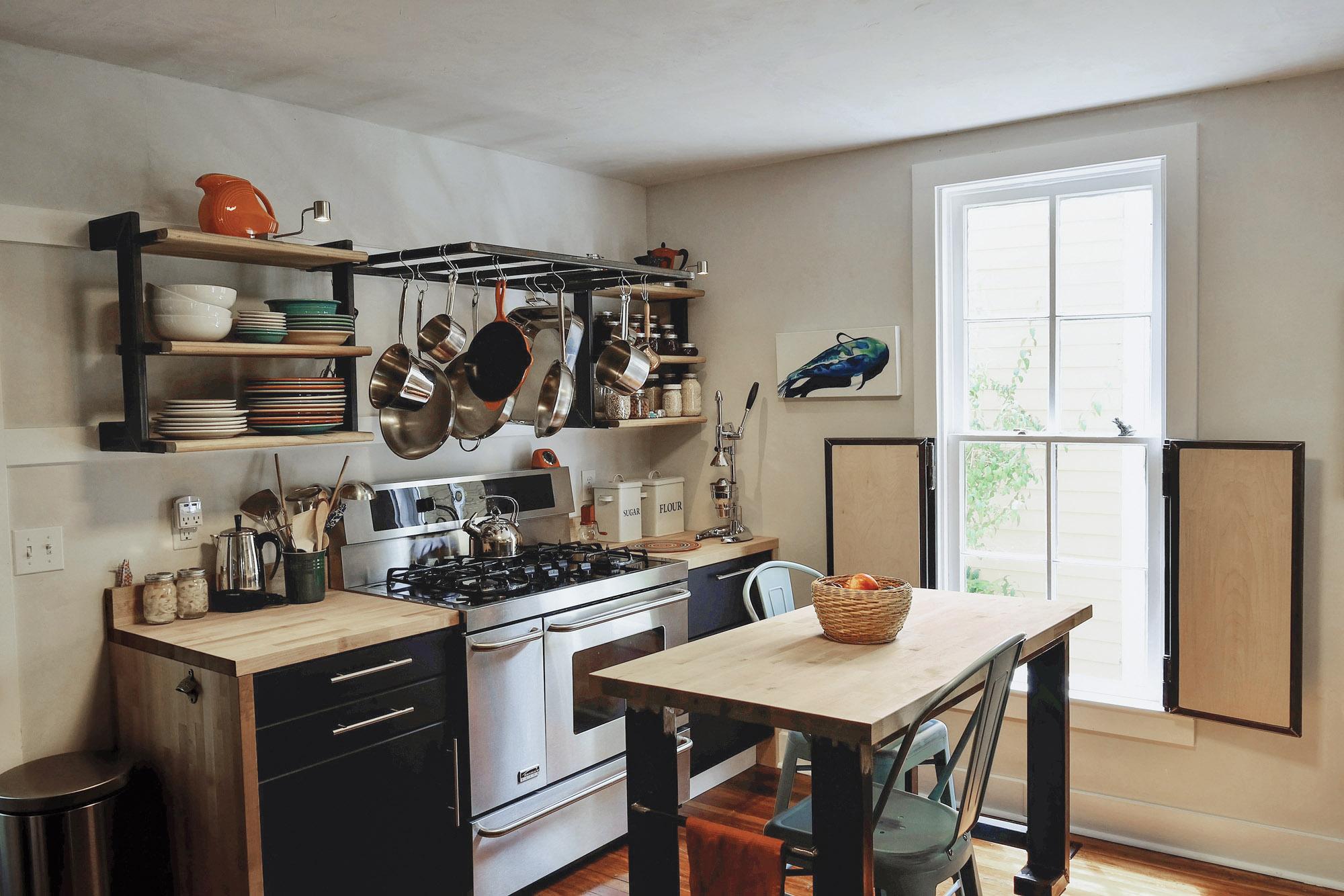 post cilv-war kitchen
